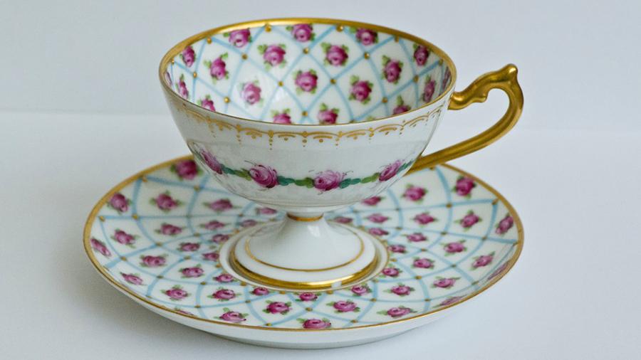 puodelis senovinis