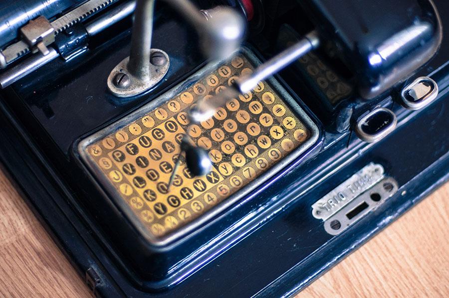 spausdinimo mašinėlė