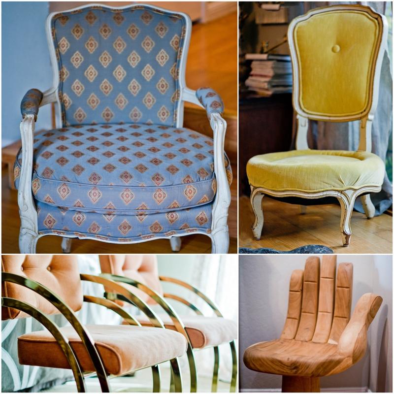 vintažiniai namai kėdės