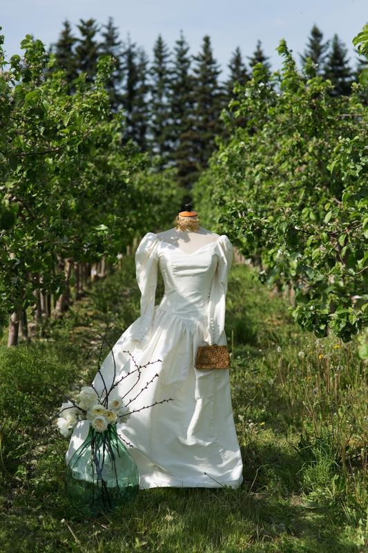 vintazine vestuvine suknele