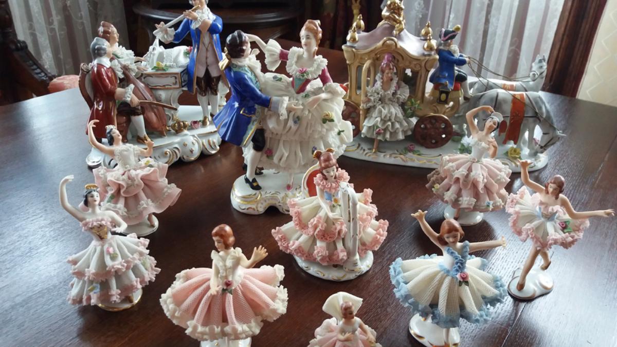 drezdeno porcelianas