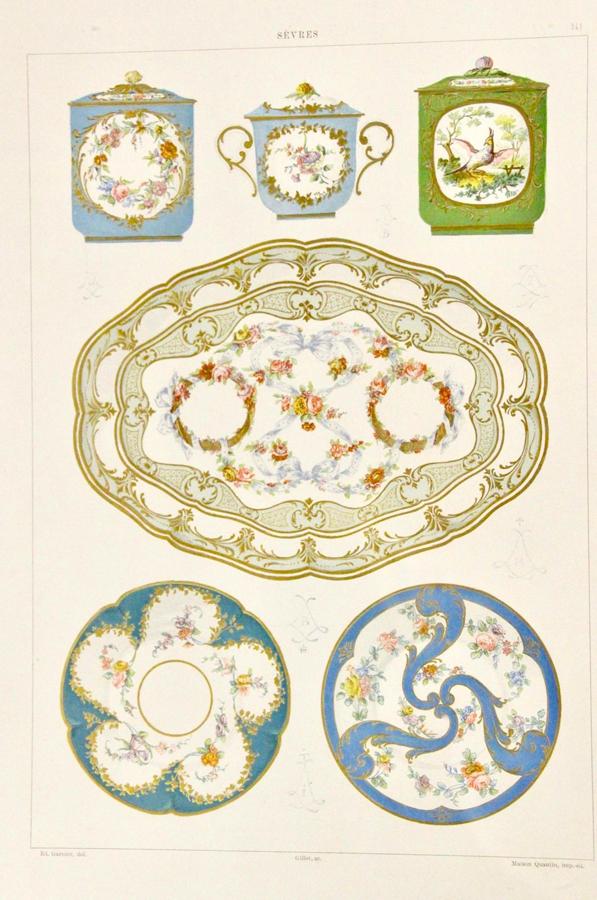 Sevres porcelianas