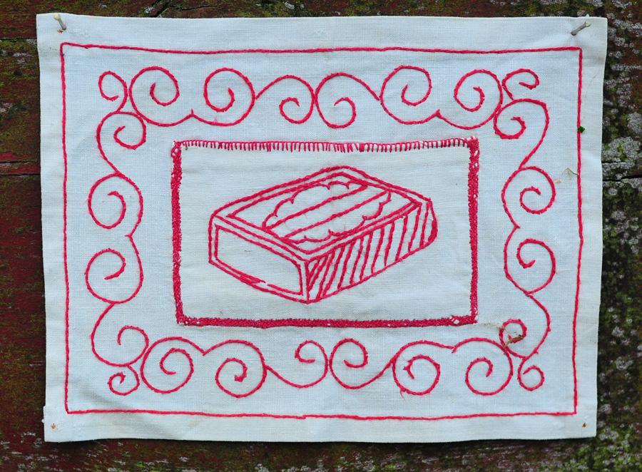 XXa. siuvinėta tekstilė